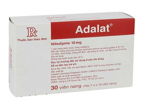 Hướng dẫn sử dụng thuốc Adalat an toàn