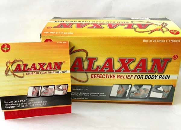 Thuốc Alaxangiúp giảm đau kháng viêm hiệu quả