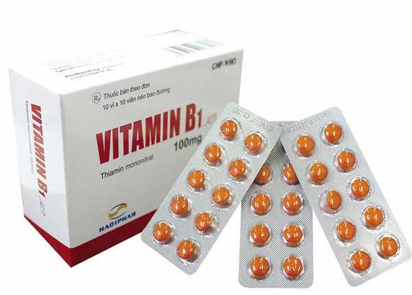 Vitamin B1 có nhiều công dụng mà ít người biết
