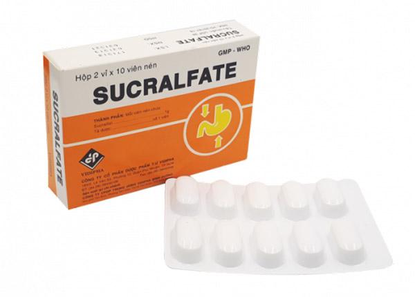 Sucralfate là một thuốc được dùng để điều trị chứng viêm loét ruột