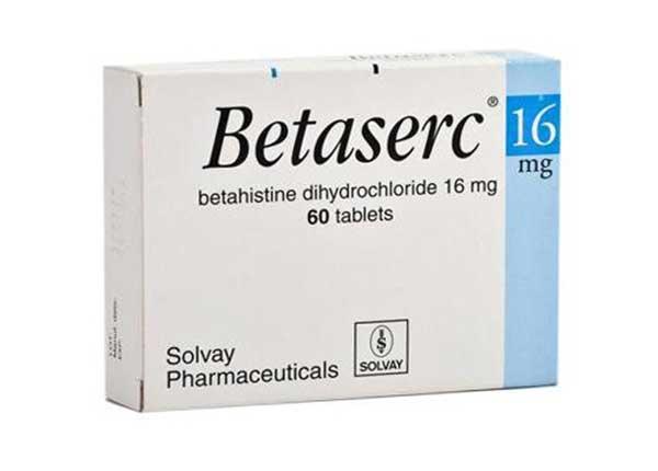 Thuốc được dùng để điều trị các triệu chứng chóng mặt