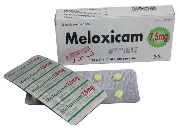 Hướng dẫn sử dụng thuốc meloxicam an toàn đúng cách