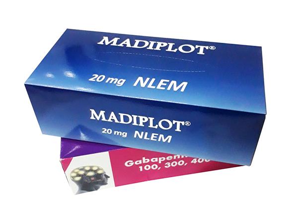 Madiplot là một thuốc có tác dụng trong việc điều trị chứng tăng huyết áp