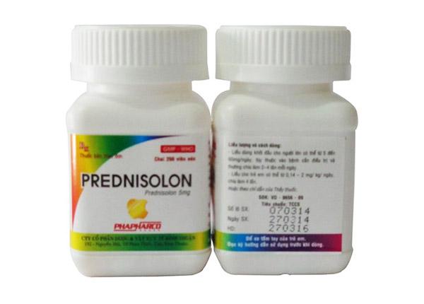 Thuốc Prednisone có tác dụng chống viêm, chống dị ứng và ức chế miễn dịch