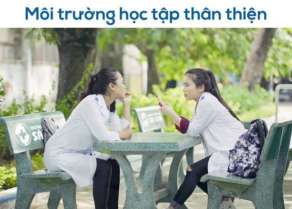 Trường Cao đẳng Dược Sài Gòn môi trường đào tạo thân thiện