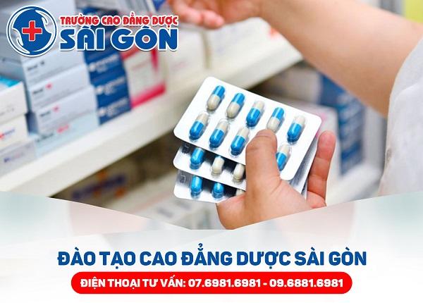Trường Cao đẳng Dược Sài Gòn đào tạo Dược sĩ Sài Gòn năm 2019