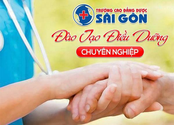 Đào tạo Điều dưỡng viên chuyên nghiệp Trường Cao Đẳng Dược Sài Gòn