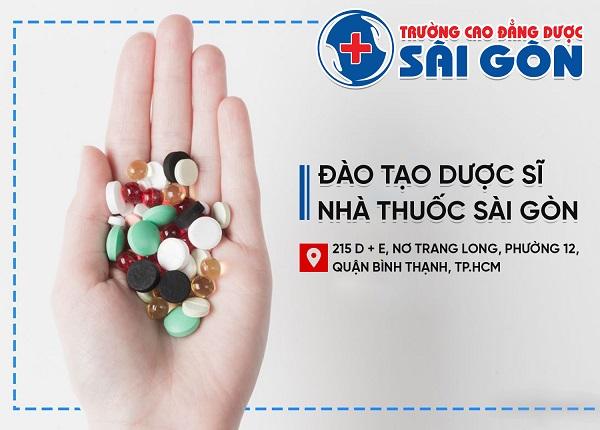 Trường Cao đẳng Dược Sài Gòn địa chỉ đào tạo Dược sĩ Sài Gòn uy tín tại TPHCM