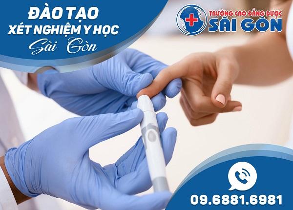 Đào tạo Cao đẳng Xét nghiệm y học tại Sài Gòn