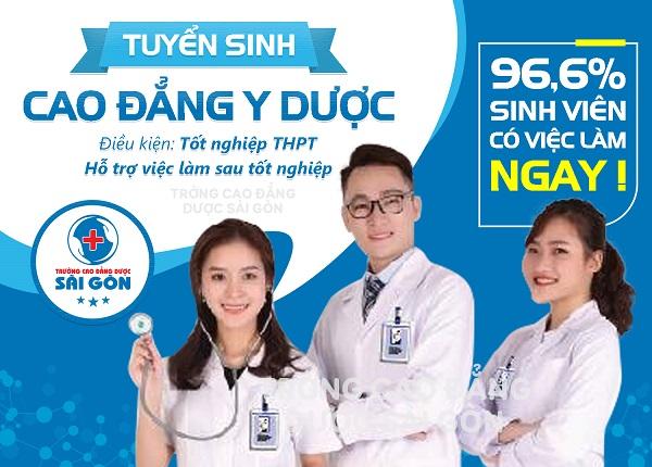 Trường Cao Đẳng Dược Sài Gòn tuyển sinh với điều kiện chỉ cần tốt nghiệp THPT