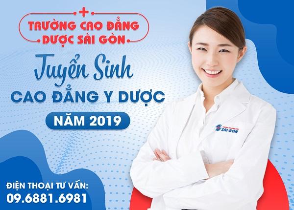 Thông báo tuyển sinh Cao đẳng Y Dược Sài Gòn
