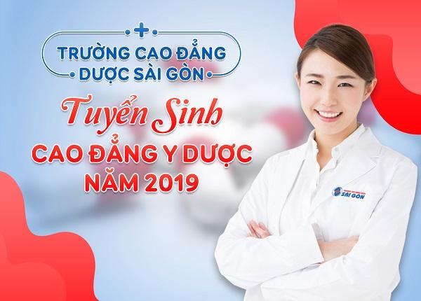Trường Cao Đẳng Dược Sài Gòn tuyển sinh 2019