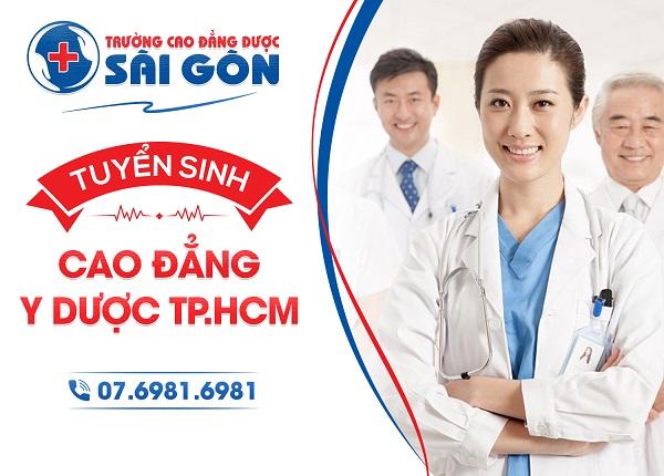 Trường Cao đẳng Dược Sài Gòn tuyển sinh Cao đẳng Y Dược
