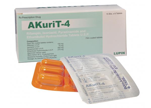 Thuốc Akurit 4 có tác dụng điều trị cả lao phổi và lao ngoài phổi trong giai đoạn ban đầu