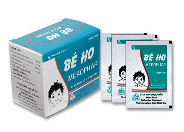Mekophar là một loại thuốc điều trị ho cho trẻ