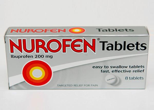 Thuốc Nurofen 200mg giúp giảm đau nhức đầu, đau bụng kinh, đau răng