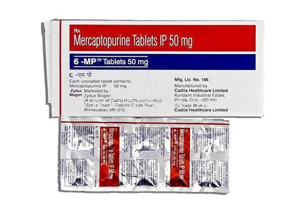 Mercaptopurin là một trong những chất tương tự purin