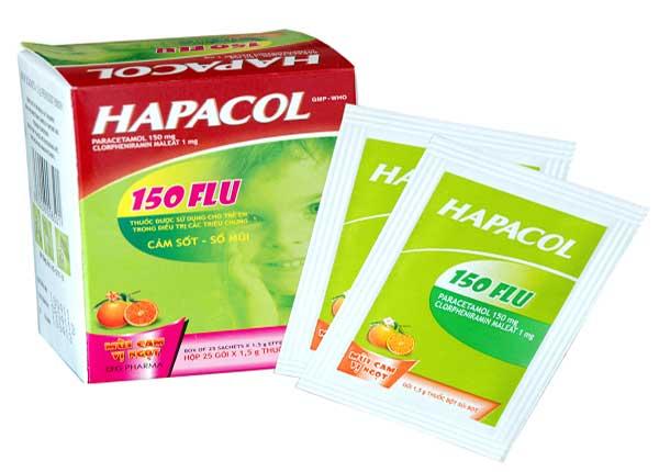 Hapacol 150 có tác dụng giảm đau, hạ sốt hữu hiệu