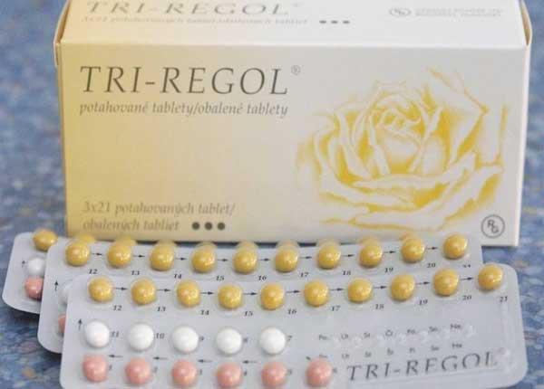Thuốc Tri-regol được sử dụng để uống ngừa thai