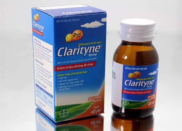 Ngoài dạng viên thuốc Clarityne còn có dạng siro cho trẻ em dễ uống
