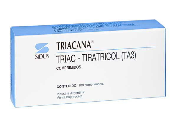 Triacana được chỉ định điều trị trong các trường hợp cần kìm hãm sự bài tiết của TSH