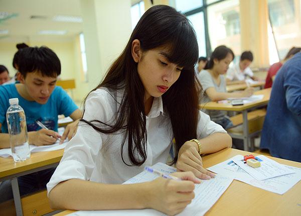 Các thí sinh chú ý về những lỗi dễ mắc phải khi làm bài thi