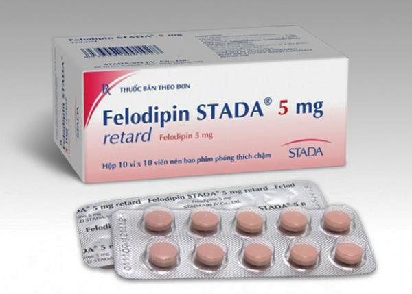 Felodipin là một thuốc thuộc nhóm tim mạch