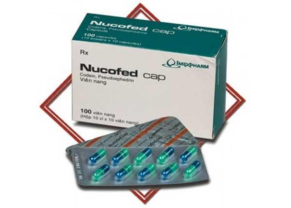 Thuốc Nucofed cap được dùng để làm giảm triệu chứng ho khan và nghẹt mũi