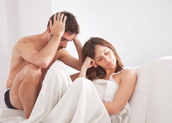 Rối loạn cương dương gây nhiều phiền toái cho các quý ông