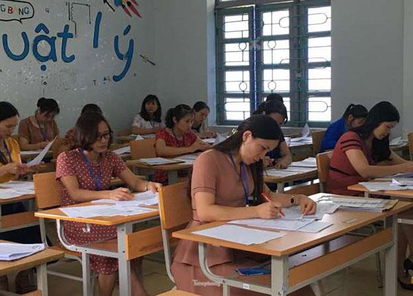 Dự kiến sáng 14-7 Bộ GD&ĐT sẽ công bố điểm thi THPT Quốc gia