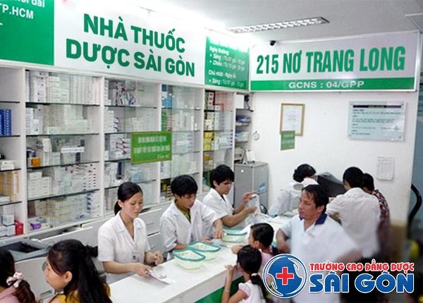 Trường Cao đẳng Dược Sài Gòn mô hình đào tạo thực hành nhà thuốc