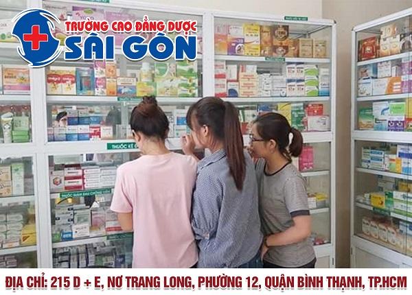 Trường Cao đẳng Dược Sài Gòn đào tạo Dược sĩ chính quy uy tín