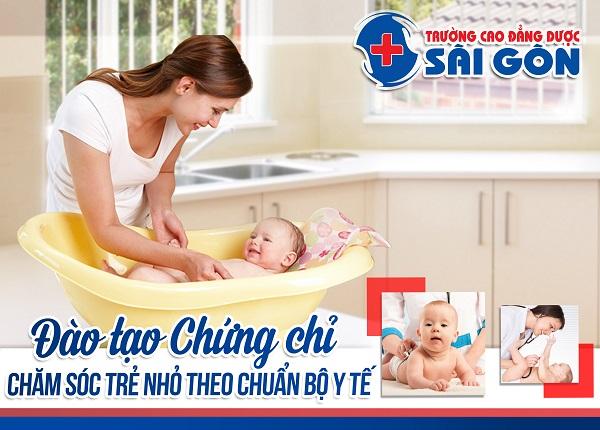 Đào tạo chứng chỉ chăm sóc trẻ nhỏ đạt chuẩn Bộ Y tế