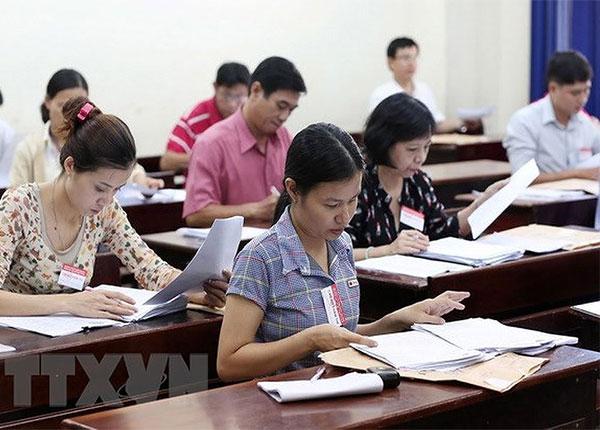 TPHCM đã chấm xong 50% bài thi môn Ngữ Văn