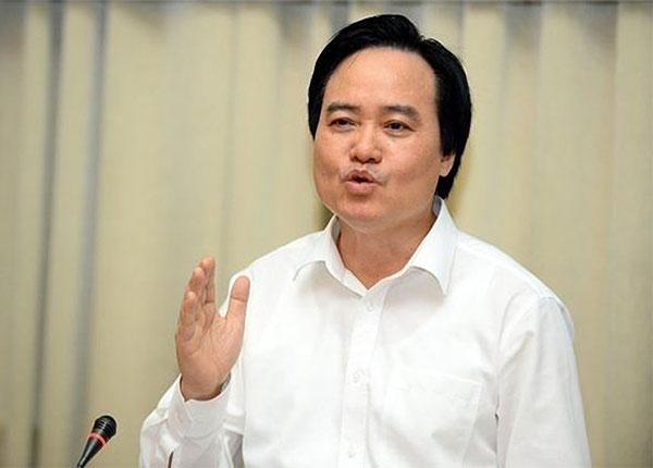 Ông Phùng Xuân Nhạ - Bộ trường Bộ Giáo dục và Đào tạo