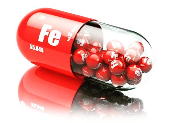 Sắt là yếu tố quan trọng cấu tạo nên Hemoglobin, một dạng protein là thành phần chính tạo nên hồng cầu