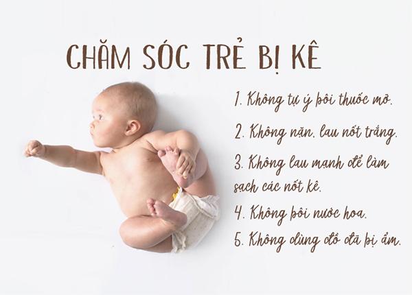 Mụn kê là hiện tượng phổ biến ở trẻ sơ sinh và nó sẽ tự hết sau một thời gian nhất định (ảnh sưu tầm)