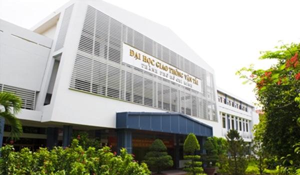 Trường ĐH Giao thông vận tải TPHCM thông báo điểm trúng tuyển bằng phương thức xét học bạ