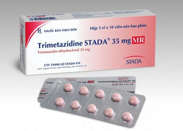 Thuốc hổ trợ điều trị triệu chứng cơn đau thắt ngực ổn định ở người lớn