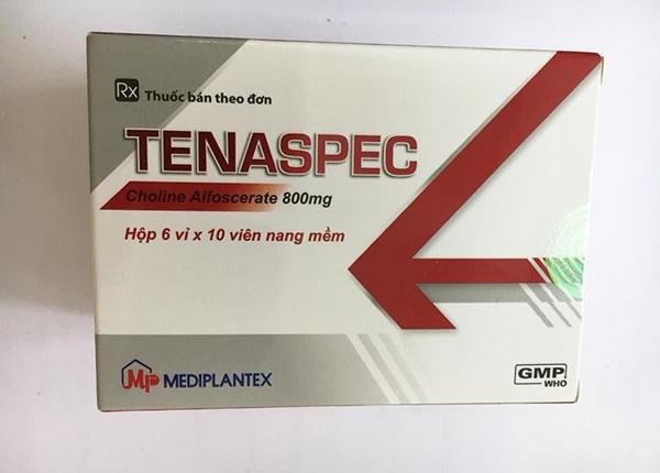 Thuốc Tenaspec dành cho cơn đột quỵ và phục hồi sau chấn thương và phẫu thuật thần kinh
