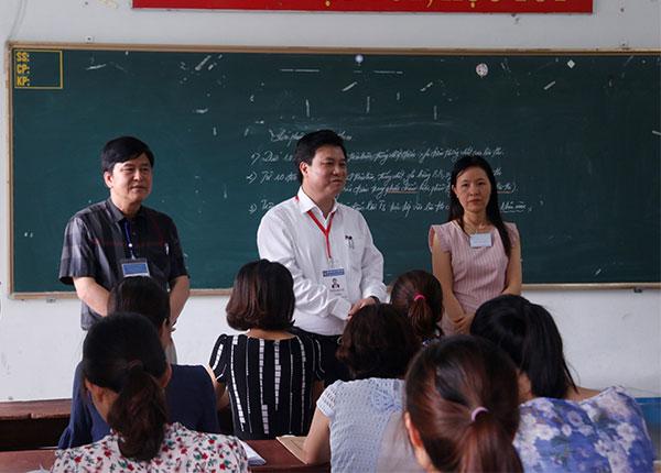 Trách nhiệm của giáo viên chấm thi đang được đẩy lên cao