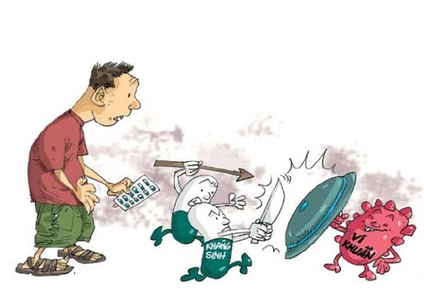sự thất bại của kháng sinh trong cuộc chiến chống siêu vi khuẩn