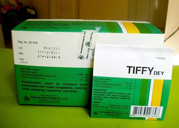 Thuốc được sử dụng để điều trị: Cảm cúm, sốt, nhức đầu, sổ mũi, nghẹt mũi