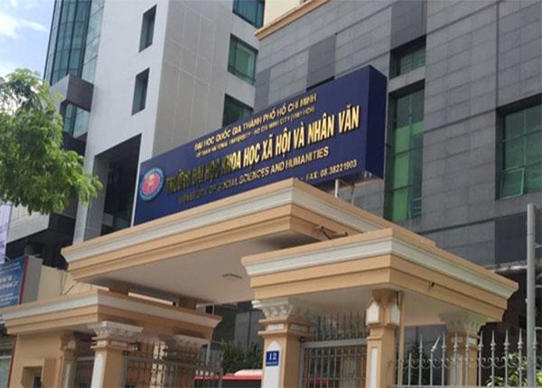 629 thí sinh đã trúng tuyển trường ĐH Khoa học xã hội và nhân văn TPHCM