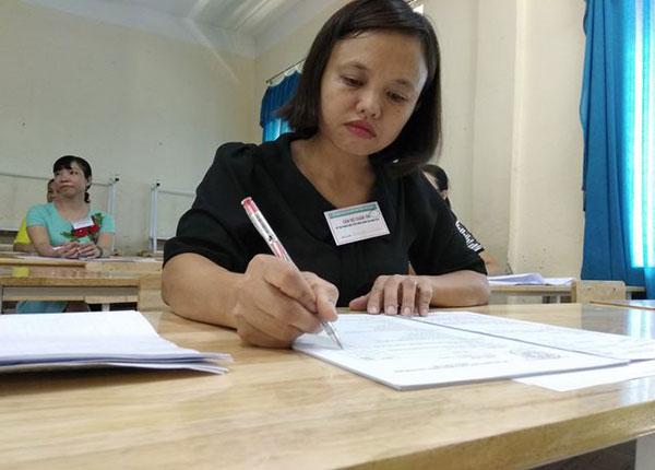 Công tác chấm thi thpt quốc gia năm 2019