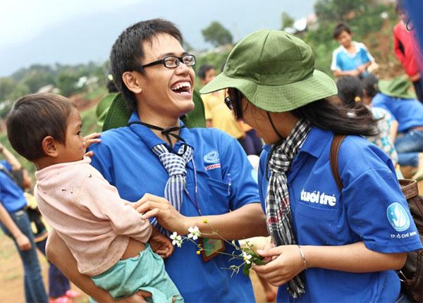 Thạm gia các hoạt động tình nguyện giúp sinh viên có nhiều trải nghiệm