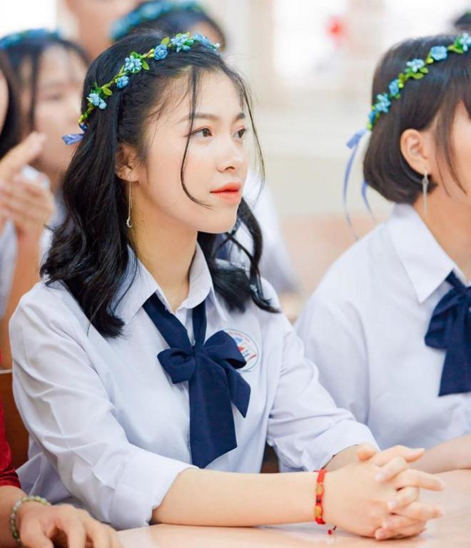 Lê Anh Thư - cựu học sinh lớp chuyên Hóa, trường THPT chuyên Hạ Long