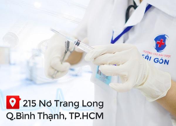 Trường Cao đẳng Dược Sài Gòn địa chỉ đào tạo nhân lực ngành Điều dưỡng uy tín