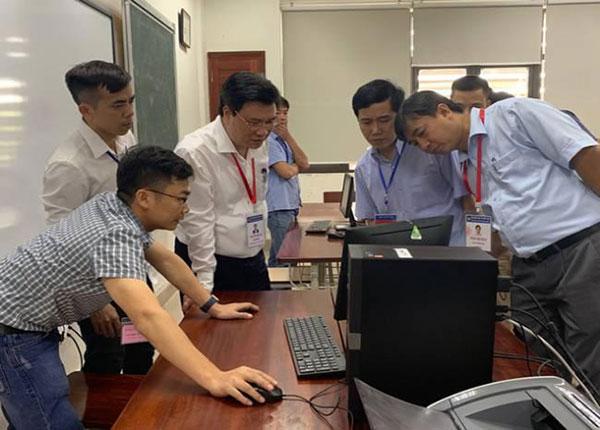 Công tác kiếm tra chấm thi trắc nghiệm của Bộ Giáo dục