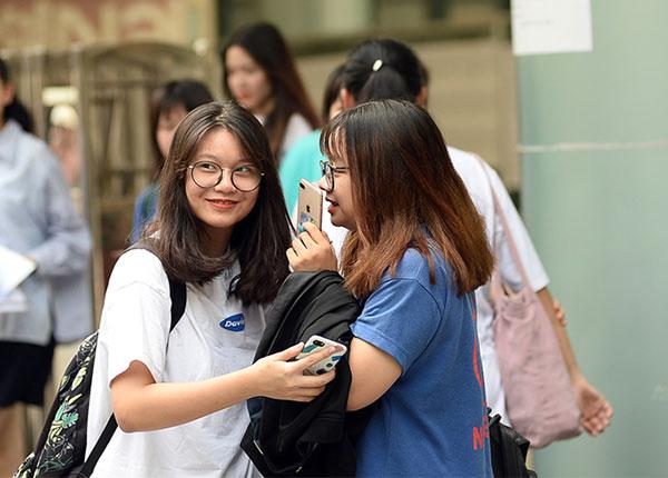 Thí sinh tham gia thi thpt quốc gia lấy điểm xét vào ĐH năm 2019